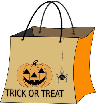 Trick or Treating in Old Town Helotes