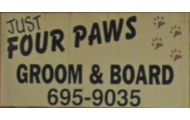 Just Four Paws Pet Grooming