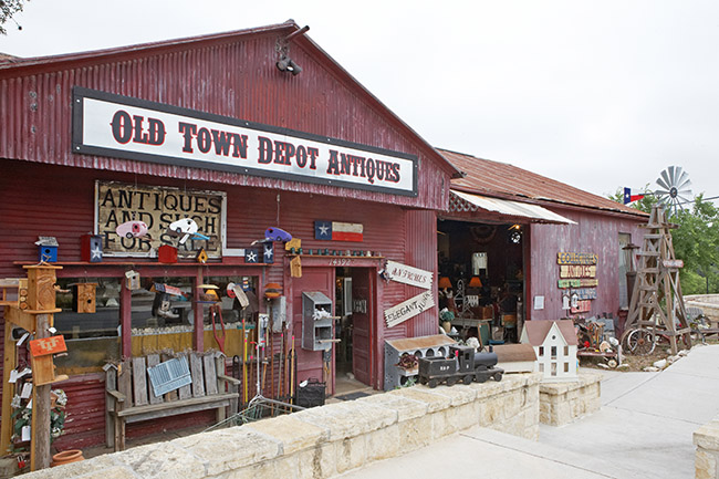 Old Town Depot Antiques Shop Helotes Tx