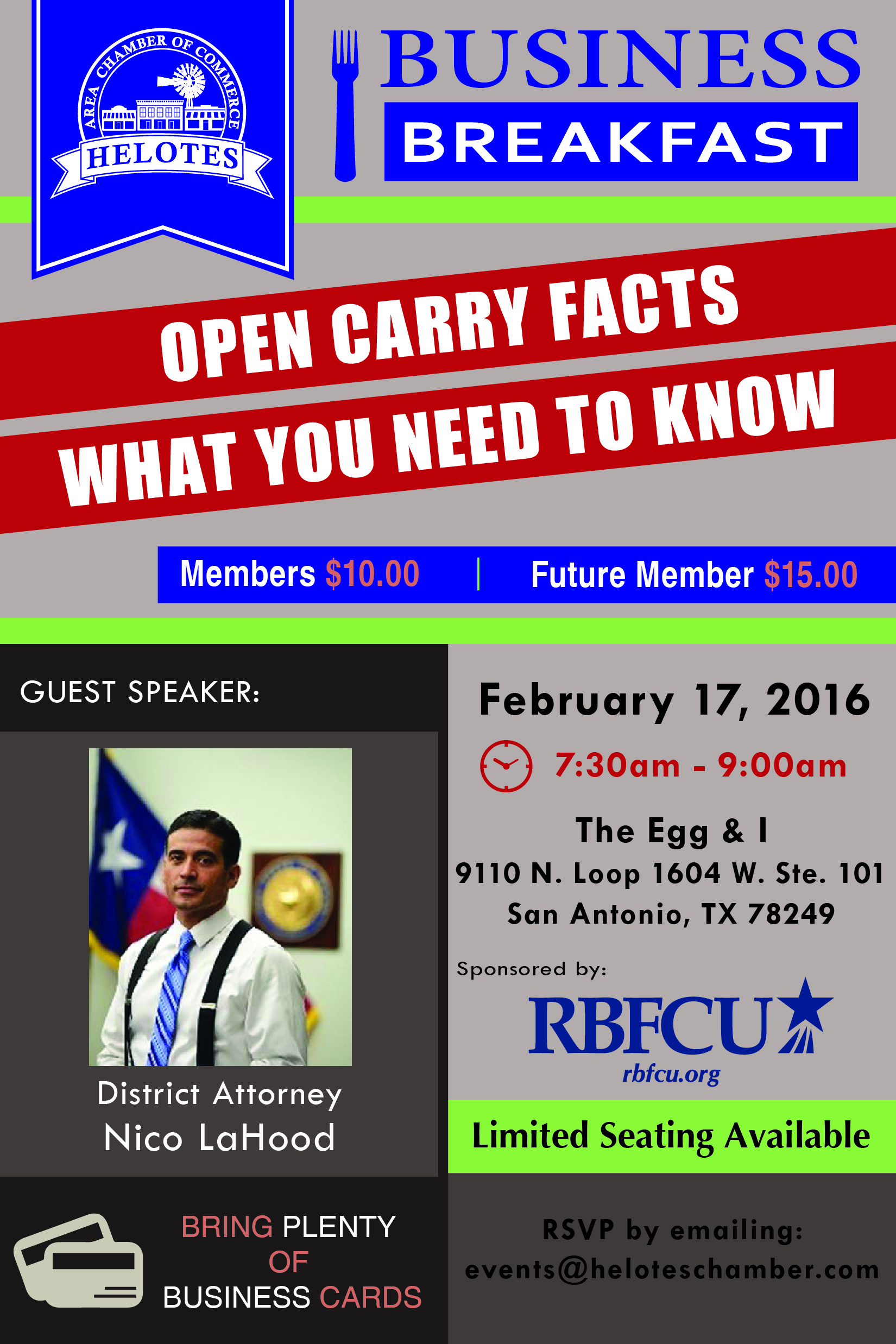 Texas Open Carry Facts